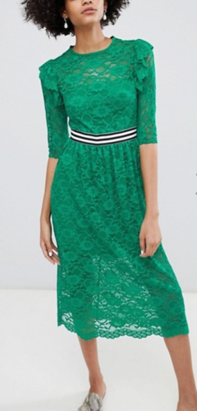 1. https://www.asos.com/asos-design/asos-midi-lace-tea-dress-with-sports-tipping/prd/8569696?CTARef=Bag%20Item%20Image