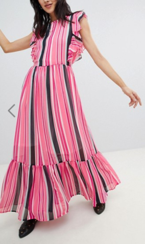 7. https://www.asos.com/vero-moda/vero-moda-stripe-peplum-hem-maxi-dress/prd/9443645?CTARef=Bag%20Item%20Image